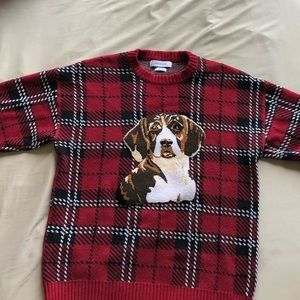 URBAN OUTFITTERS DOG SWEATER // WINTER STEAL